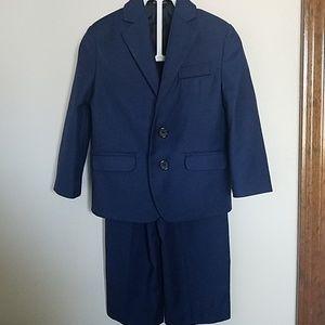 Navy Blue toddler blazer pant suit